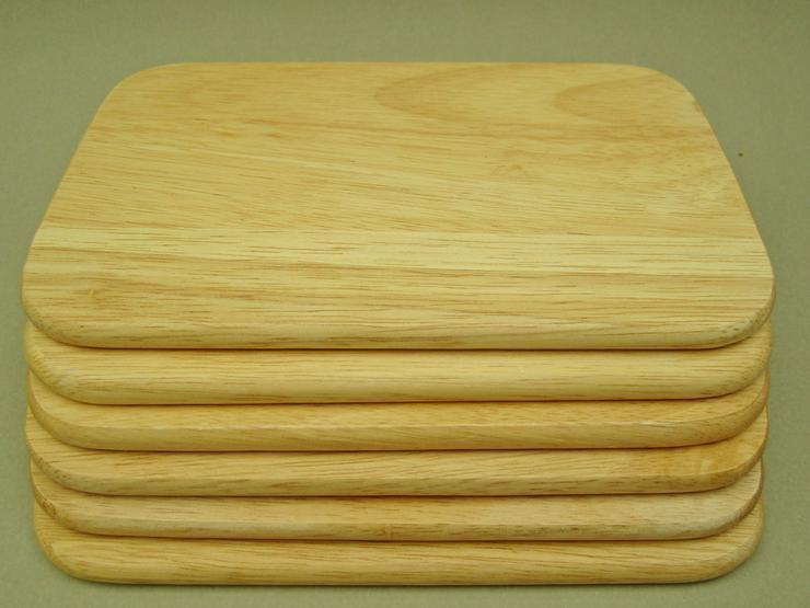 Holzbrettchen Frühstücksbrettchen 6 Stk Brotzeit 23 x 14,5 x 1cm - Weitere - Bild 2