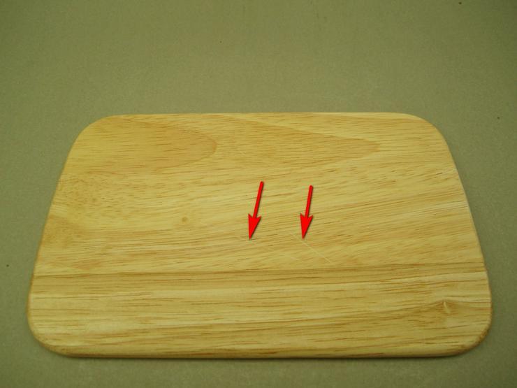 Bild 5: Holzbrettchen Frühstücksbrettchen 6 Stk Brotzeit 23 x 14,5 x 1cm