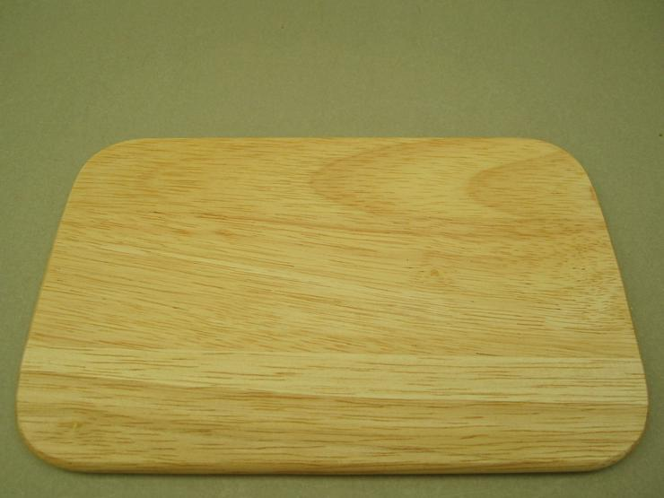 Bild 4: Holzbrettchen Frühstücksbrettchen 6 Stk Brotzeit 23 x 14,5 x 1cm