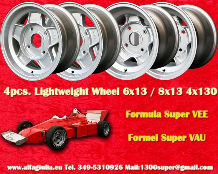 Felgen Formula Super Vee 6x13 8x13 Volkswagen FSV