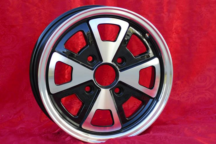Bild 2: Felgen Volkswagen Beetle Karmann Ghia 5.5x15 4x130