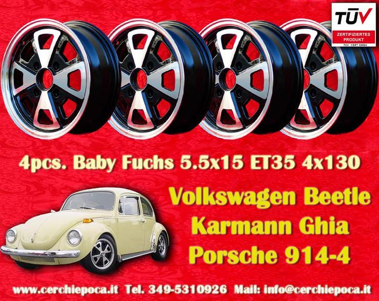 Felgen Volkswagen Beetle Karmann Ghia 5.5x15 4x130