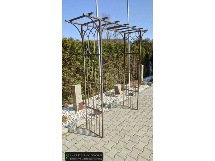 Eisen-, Metall- Gartenbogen YOKOHAMA Breite 1,4 m