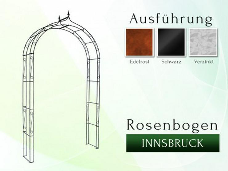 Eisen-, Metall- Gartenbogen INNSBRUCK Breite 1,0 oder 1,5 m