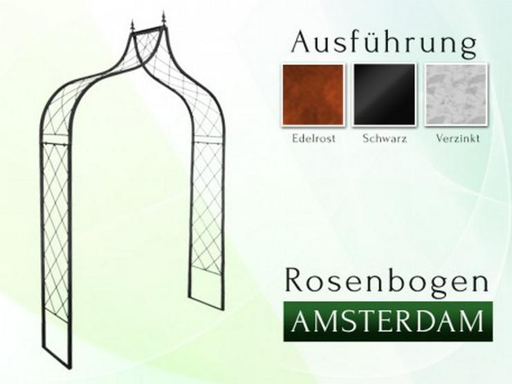Eisen-, Metall- Gartenbogen AMSTERDAM Breite 1,4 - 1,8 m