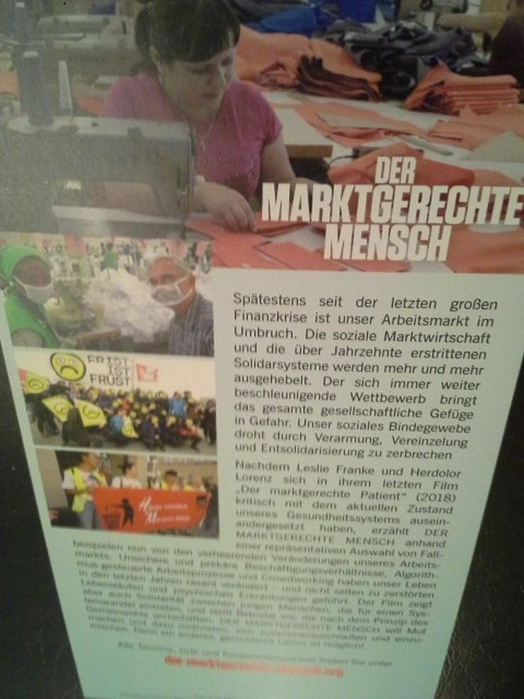 Flyer Doku Film 2020 Der Marktgerechte Mensch - Poster, Drucke & Fotos - Bild 1