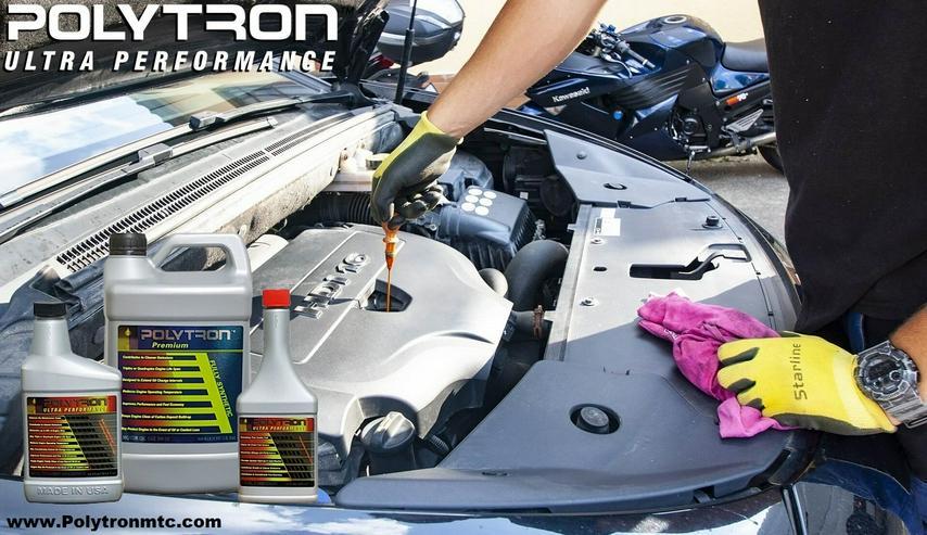Bild 4: POLYTRON - das weltweit beste Öladditiv, Motoröl und Kraftstoffzusatz (Benzin / Diesel)