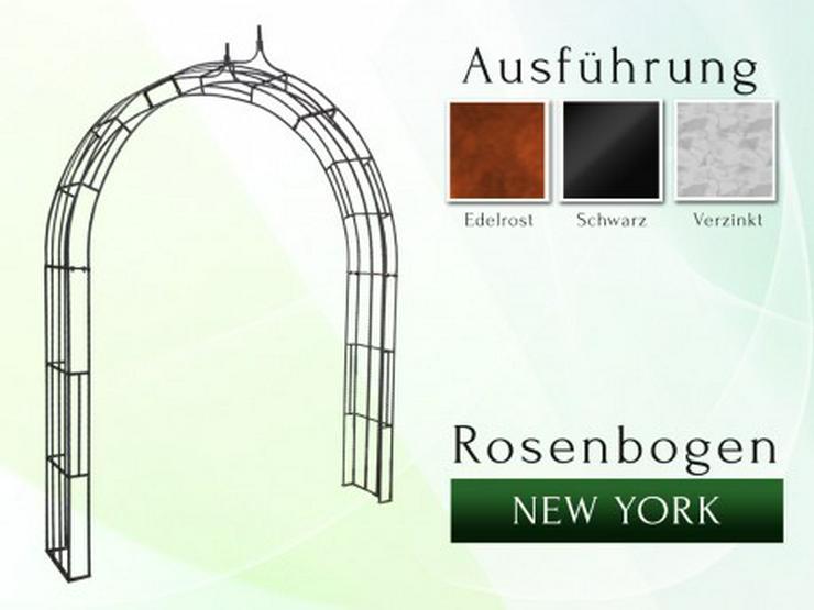 Eisen-, Metall- Gartenbogen NEW YORK Breite 1,2 bis 2,0 m