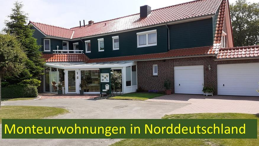 Bild 1: 2 Monteurwohnungen im Bereich Esens - Wittmund - Aurich - Norden