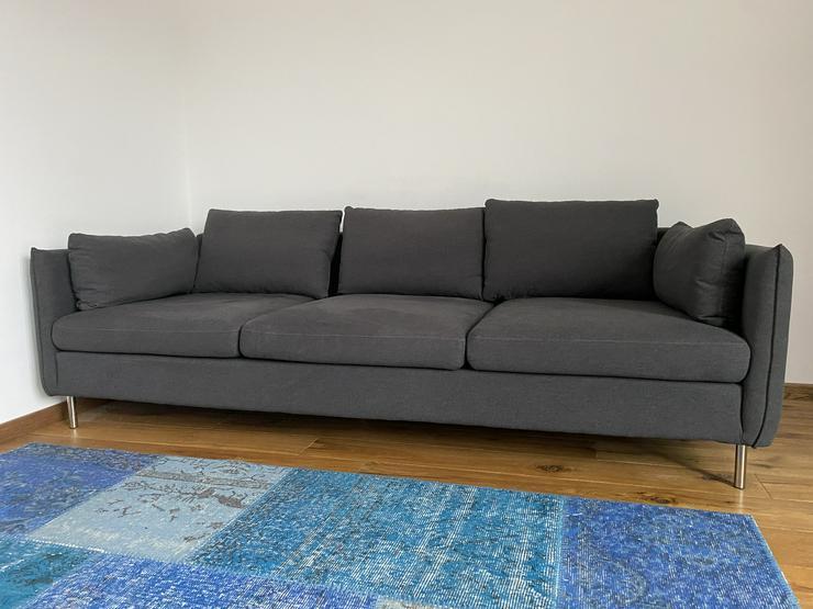 Vento 3-Sitzer Sofa, Sterlinggrau