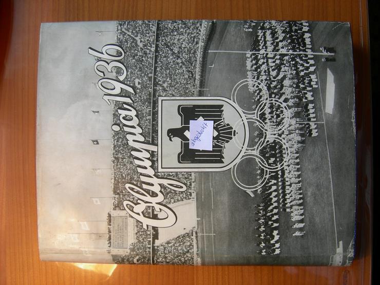 Bild 5: OLYMPIA - BÜCHER (historisch) von 1932 und 1936