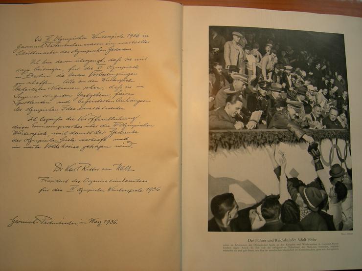 Bild 3: OLYMPIA - BÜCHER (historisch) von 1932 und 1936
