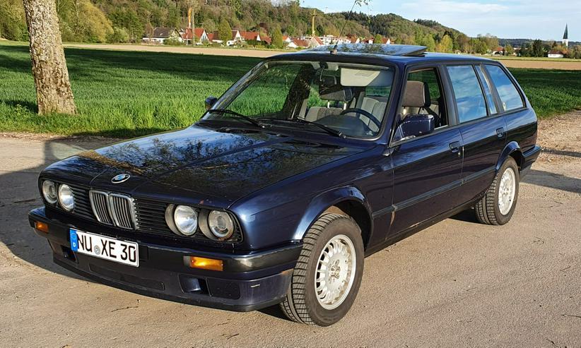BMW E30 318i Touring TÜV 03/2023 blau metallic