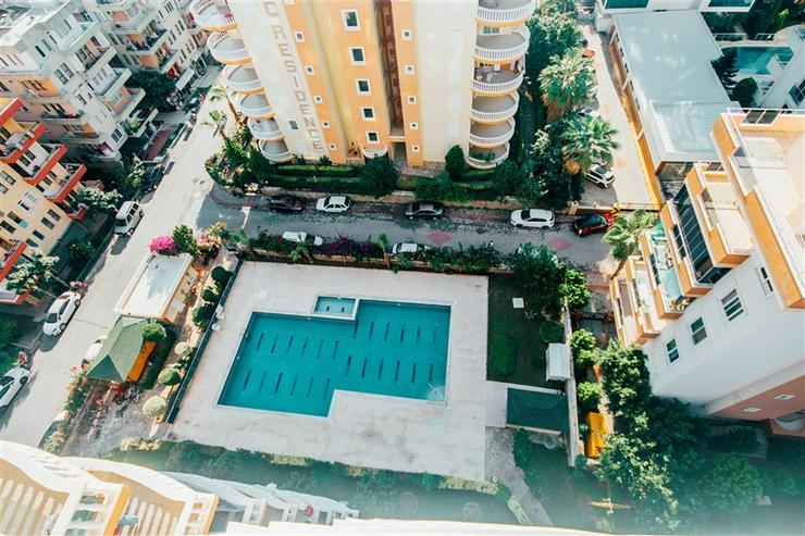 Türkei, Alanya. 130 m² große 3 Zi. Wohnung, Toller Meerblick. 422