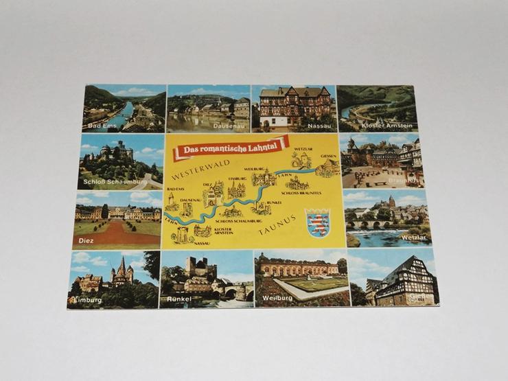 Das romantische Lahntal-Westerwald-,ungelaufen-Postkarte 11320-