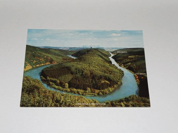 Die Saarschleife-,ungelaufen-Postkarte -11321-