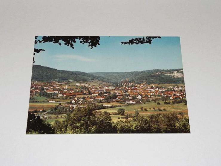 Ebermannstadt-Fränkische Schweiz-Ansicht,ungelaufen-Postkarte -11322-