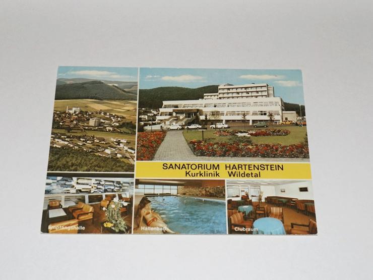 Postkarte -11324-Bad Wildungen-Sanatorium Hartenstein--gelaufen