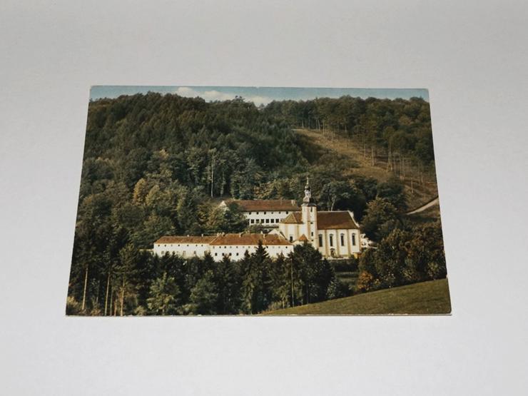 Lohr am Main-Wallfahrtskirche und Kloster-gelaufen-Postkarte -11328-