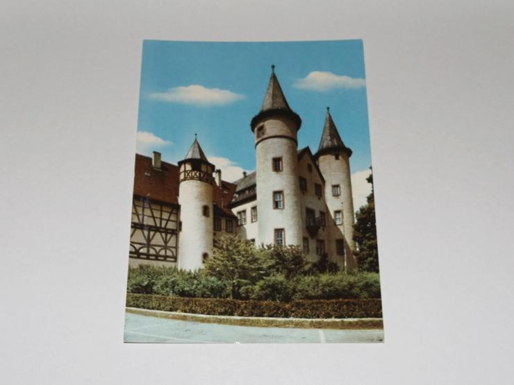 Lohr am Main,Kurmainzer Schloß,ungelaufen-Postkarte -11329-