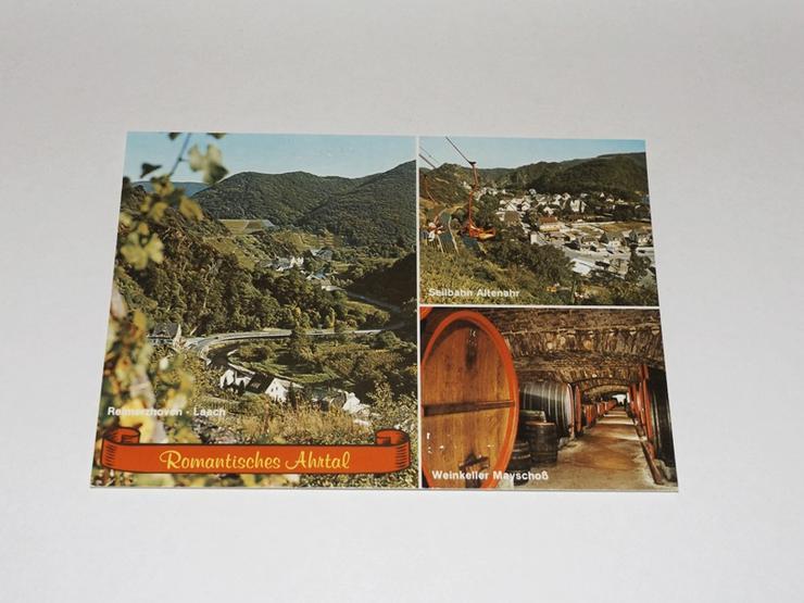 Ramantisches-Ahrtal bei Reimerzhoven,ungelaufen-Postkarte -11330-