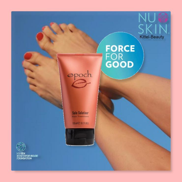 Sole Solution - Nuskin - Fußcreme - Rabatt - Neu