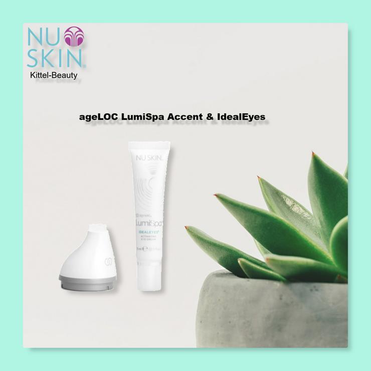LumiSpa Accent (Augenaufsatz) & IdealEyes - Nuskin - Rabatt
