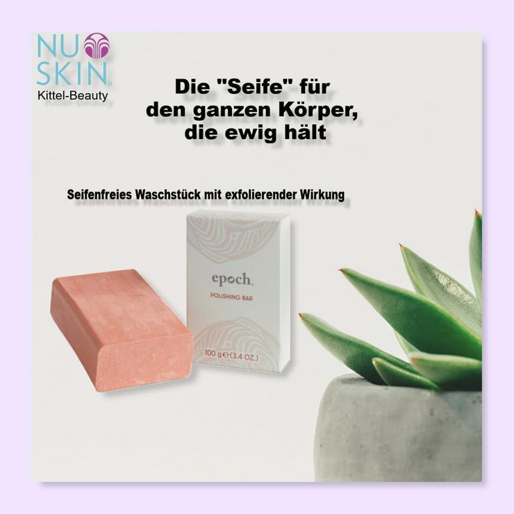 Seifenfreie Seife / Polishing Bar - Nuskin - Rabatt - Neu