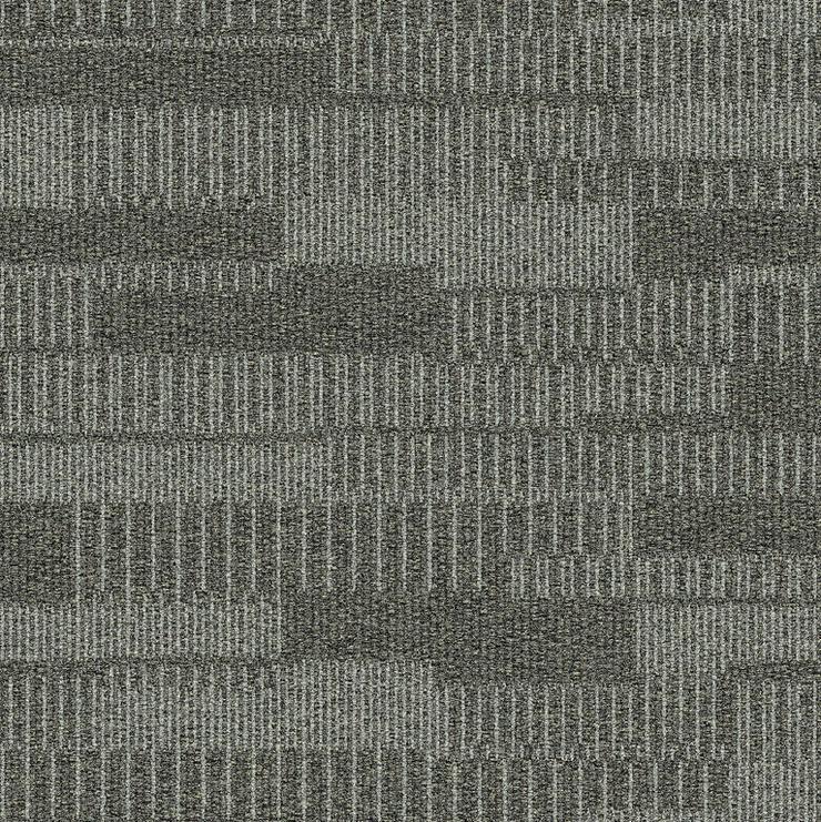 Graue Duet Dove Teppichfliesen von Interface