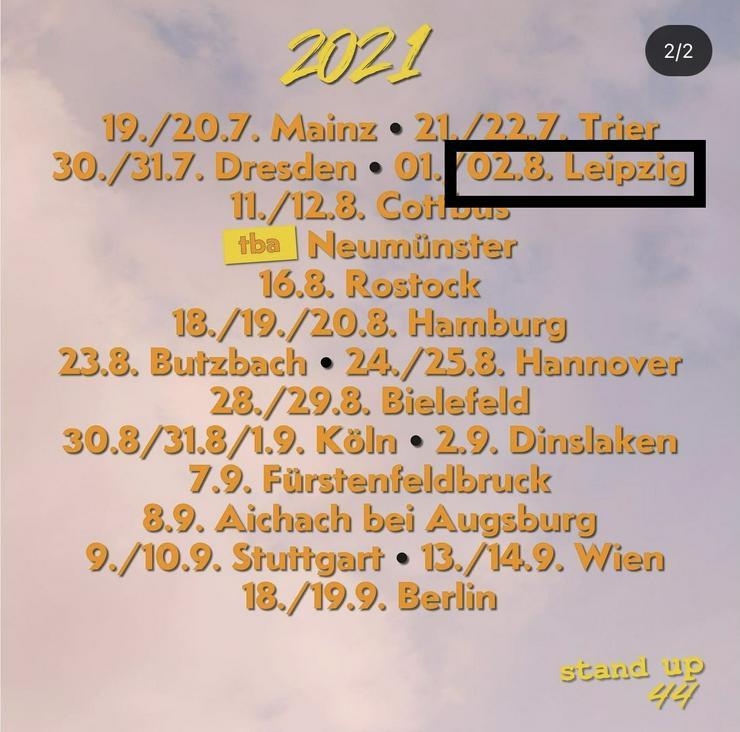 2x Standup44 Tickets mit Felix Lobrecht