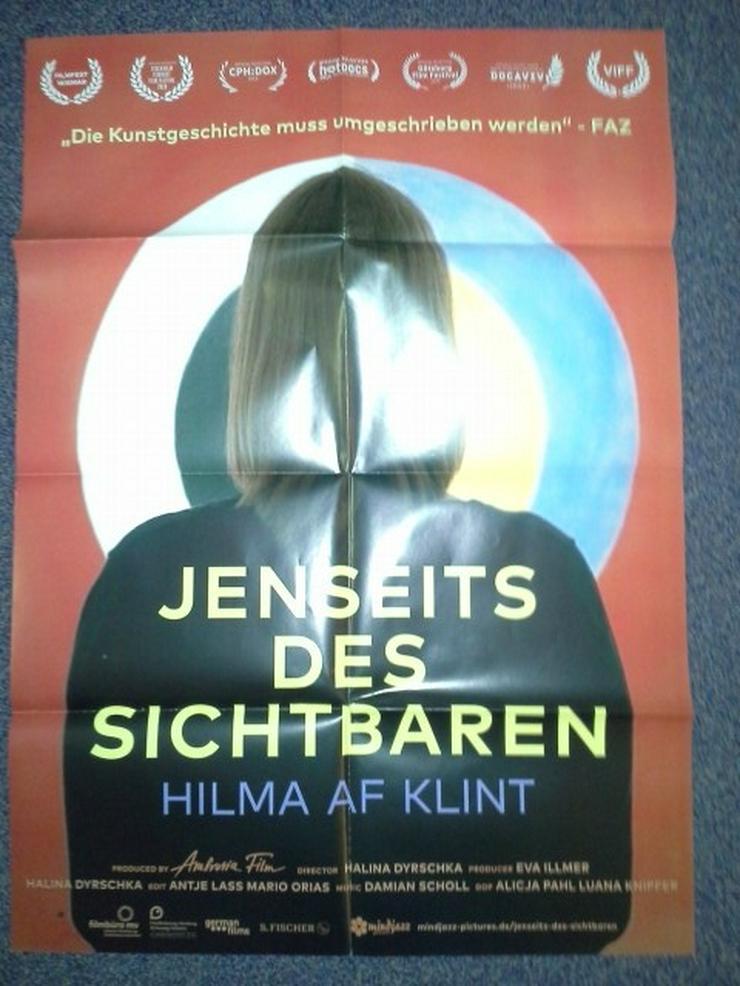Doku Film Plakat A2 Hilma af Klint Jenseits des Sichtbaren