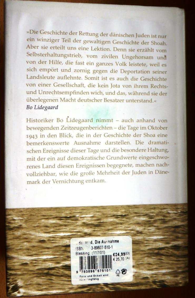 Bild 2: Die Ausnahme, Bo Lidegaard - Oktober 1943: Wie die dänischen Juden mithilfe ihrer Mitbürger der Vernichtung entkamen
