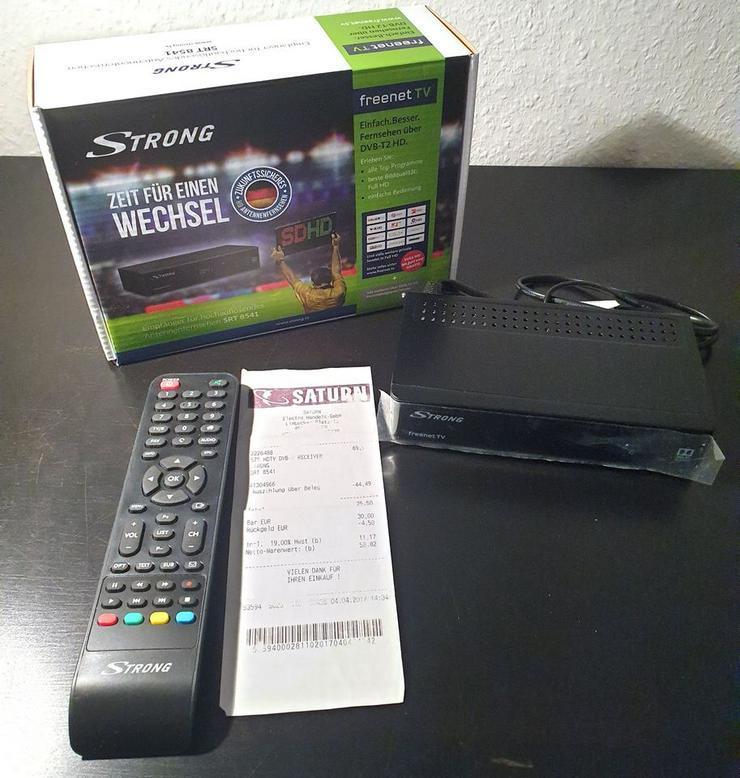 Receiver DVB-T2 Strong SRT 8541