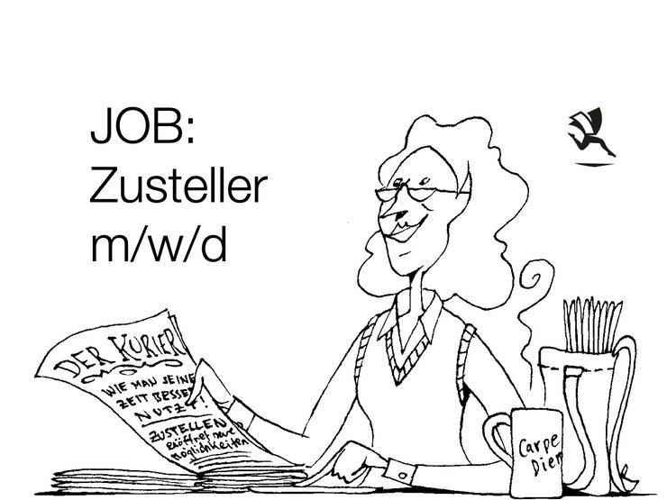 Zusteller m/w/d gesucht - Minijob, Teilzeit, Aushilfsjob in Wiehl