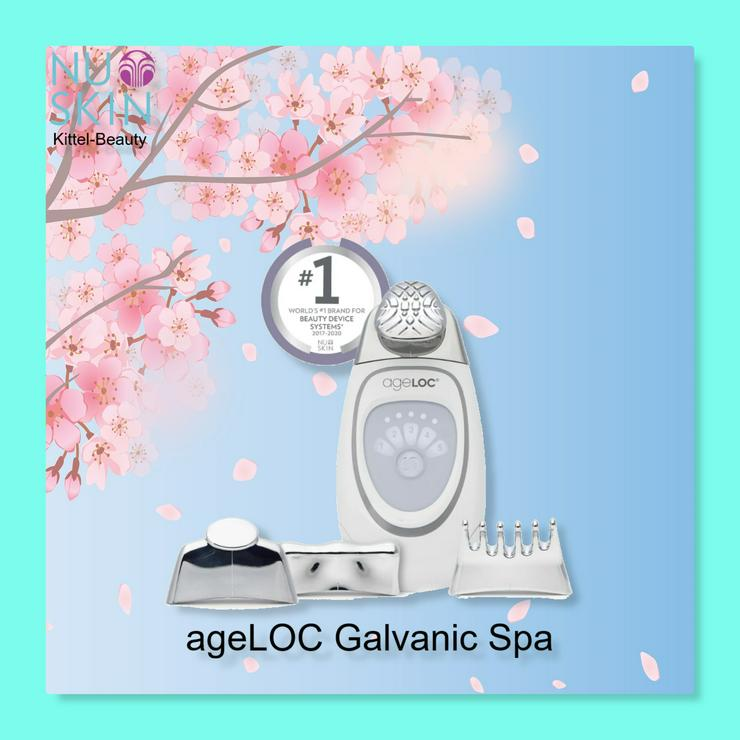 ageLOC Galvanic SPA / Faltenbügeleisen - Nuskin - Neu - Rabatt