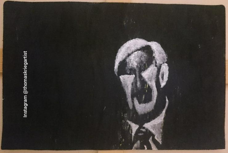 """Donald Rumsfeld"" Art Arte Kunst Thomas Krieg"
