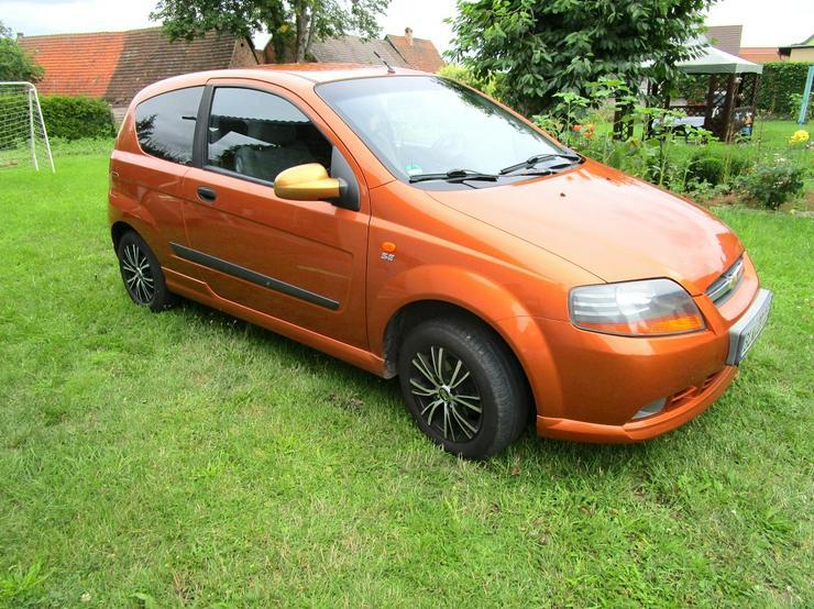 Chevrolet Kalos 1.2 SE Klima Alufelgen Orange-Metallic 3 Türer