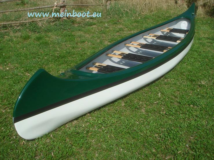 Kanu 5er Kanadier 550 Neu ! in grün /weiß