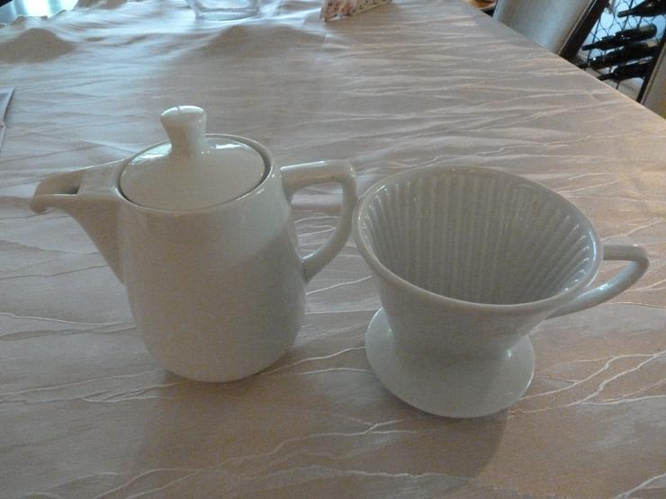 Melitta  Kaffe - Kanne  plus Kaffeefilter   15,00  E