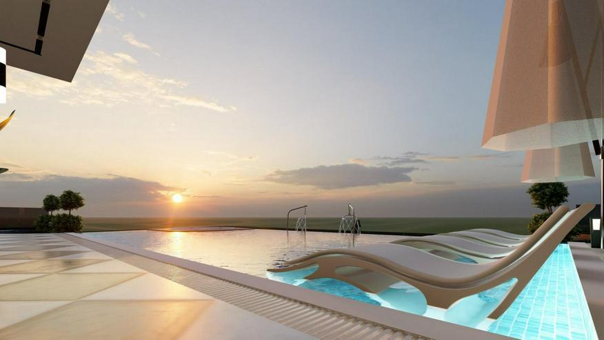 Türkei, Alanya. 5 Zimmer Villa mit traumhaftem Meerblick, 455