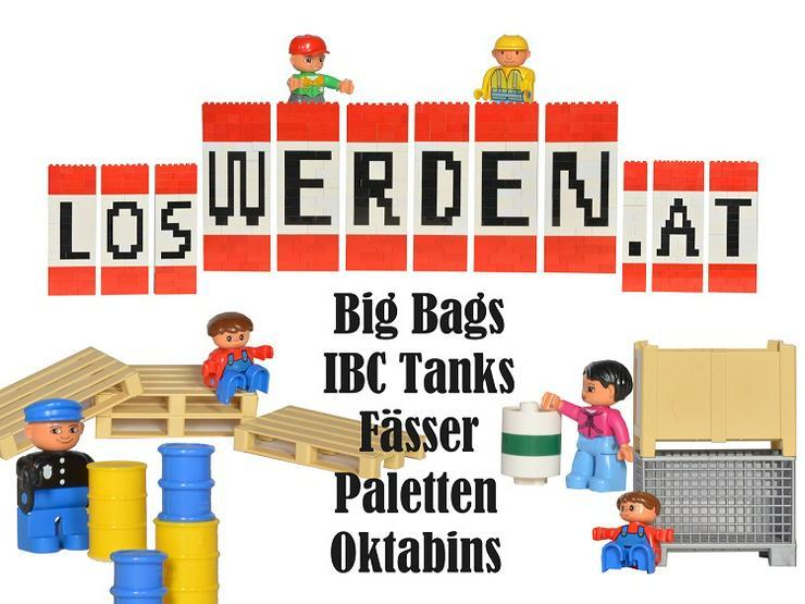 gebrauchte Deckelfässer, IBC Tanks, Paletten, Big Bags und Oktabins gesucht