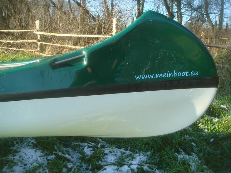 Bild 6: Kanu 4er Kanadier 550 Neu ! in grün /weiß