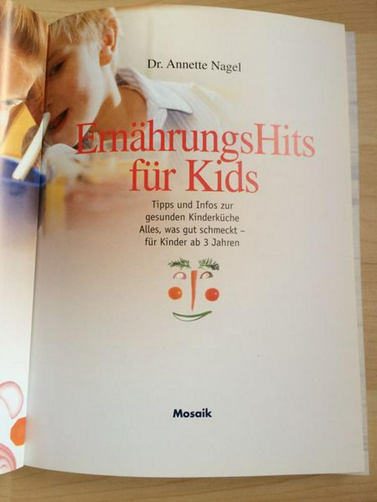 Bild 2: Buch: ErnährungsHits für Kids ab 3 J., neuwertig