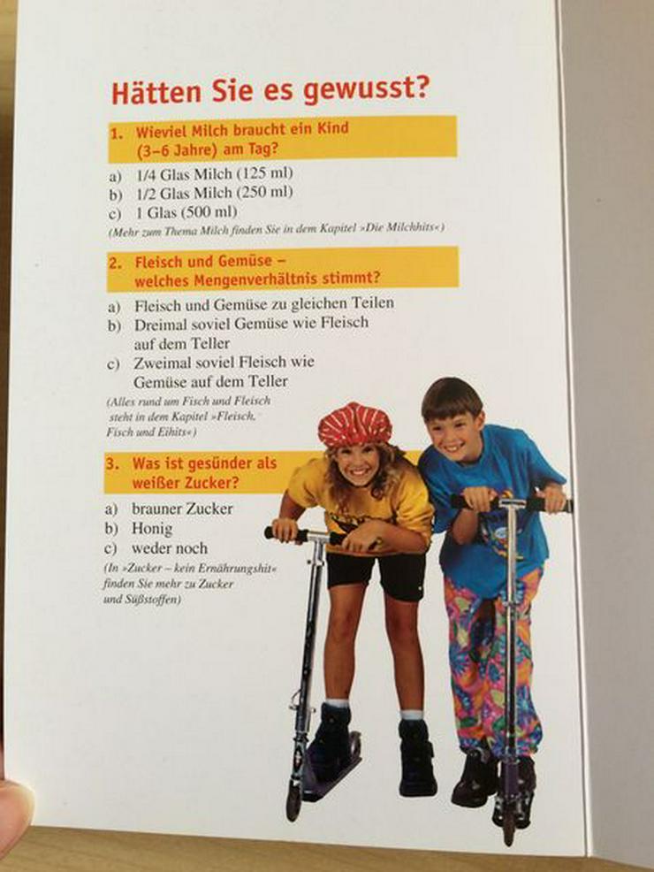 Bild 3: Buch: ErnährungsHits für Kids ab 3 J., neuwertig