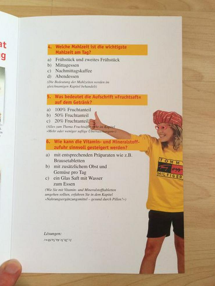 Bild 4: Buch: ErnährungsHits für Kids ab 3 J., neuwertig
