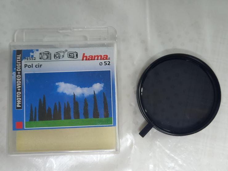 Hama Polfilter, circular, 52 mm, neuwertig
