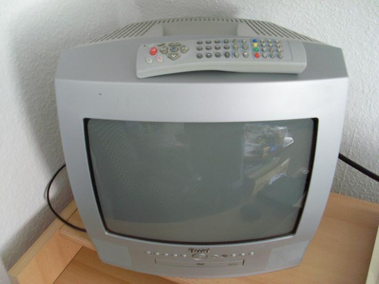 TV + DVD Player DUAL Loewe silber