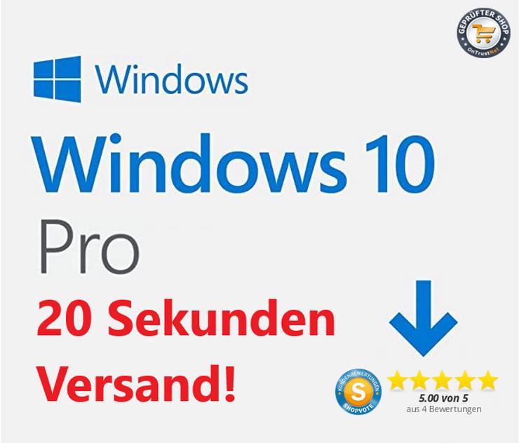 Windows 10 Pro & Home Gutschein / Rabattcode