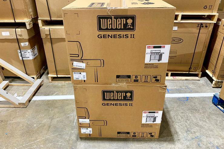 NEU Weber Genesis II E-410 GBS Gasgrill schwarz