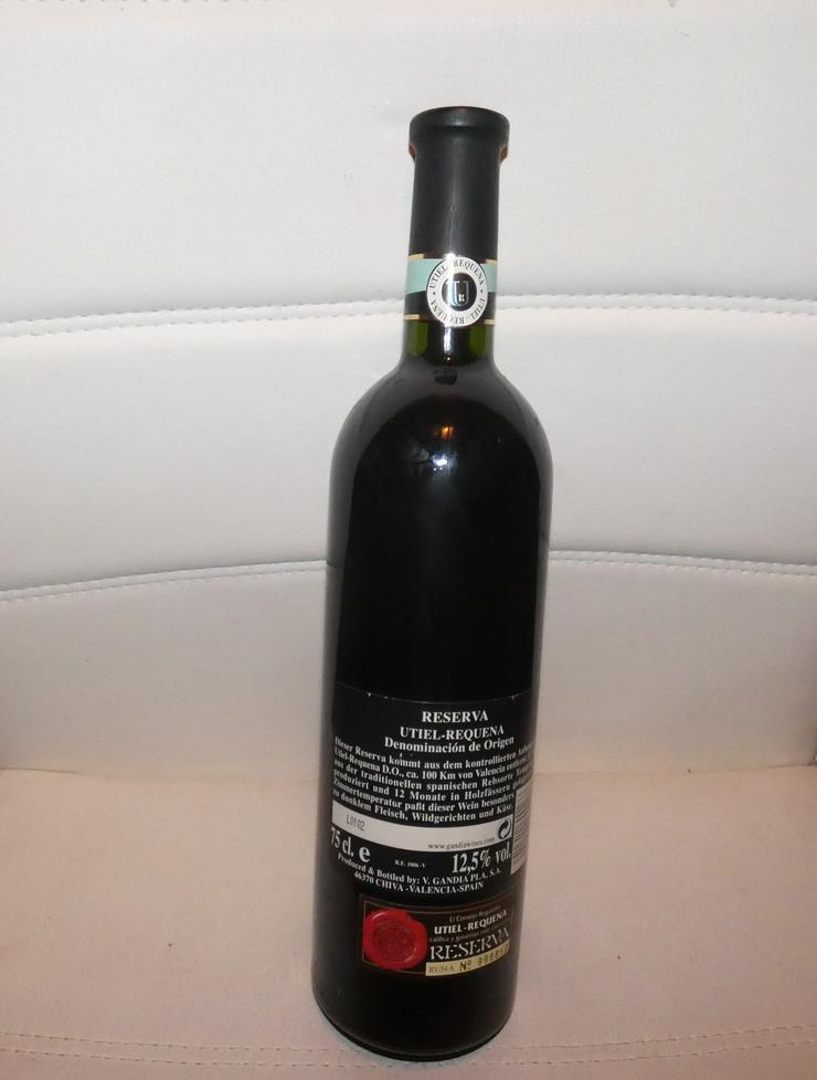 Bild 3: Reserva Utiel Requena von 1994, Wein aus Spanien